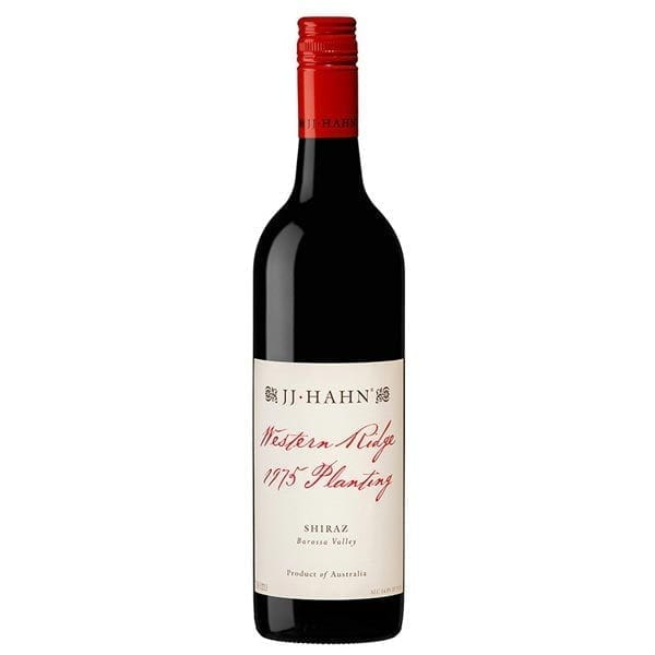 JJ Hahn 1975 Western Ridge Shiraz