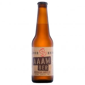 Woolshed Brewery AAAM BER Australian Amber Ale