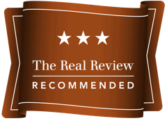 The real Review 3 star rating